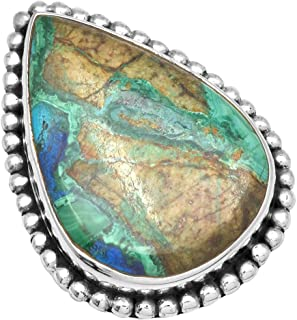 Best azurite and malachite engagement ring Reviews