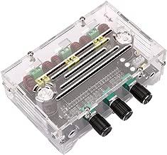 Amplifier Board, Yeeco HiFi 2.1 Channel 80W+80W+100W Stereo Audio Amplifier Digital Power Amplifier Board with Acrylic Case Car Audio AMP Board with Adjustment Knob