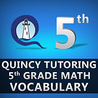 Quincy Tutoring Fifth Grade Math Vocabulary Flashcards