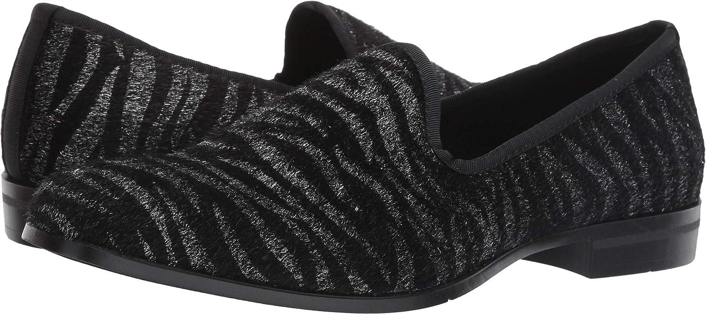 STACY ADAMS Men's Sultan Tiger Print Slip on Loafer