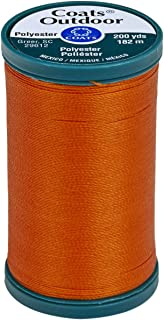 Coats Outdoor Living Thread, 200-Yard, Tangerine