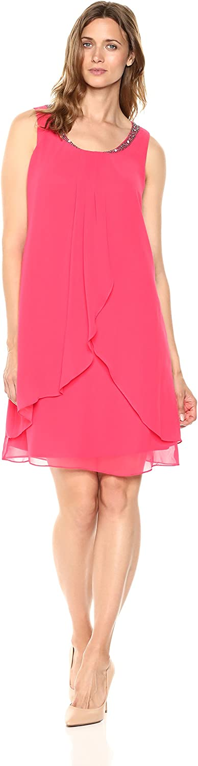 S.L. Fashions Womens Party Cocktail Dress Dress