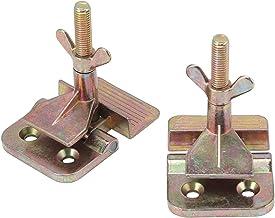 2 stks/set Scharnier Klem Zeefdruk Metalen Scharnier Klem DIY Hobby Tool Scherm Frame Printer Geel