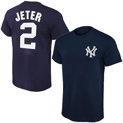 timeless design 1169d 514b6 Jeter Jersey: Amazon.com