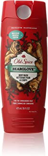Old Spice Wild Collection Bodywash, Bearglove 16 oz (Pack of 3)