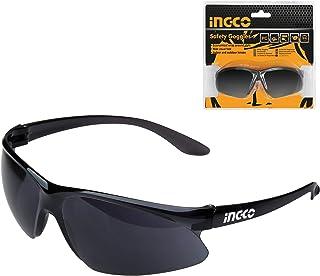INGCO 溶接メガネ 遮光メガネ 溶接用 ゴーグル 電気溶接用メガネ 保護ゴーグル 紫外線防止 ダーク度10 HSG07