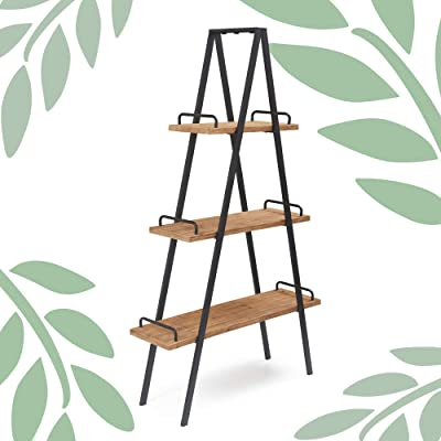 Finch A-Frame Bookshelf, Natural