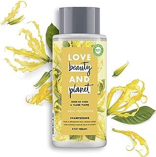 Love Beauty & Planet Shampooing Femme Vegan Oasis Réparatrice, Huile de Coco Bio et..
