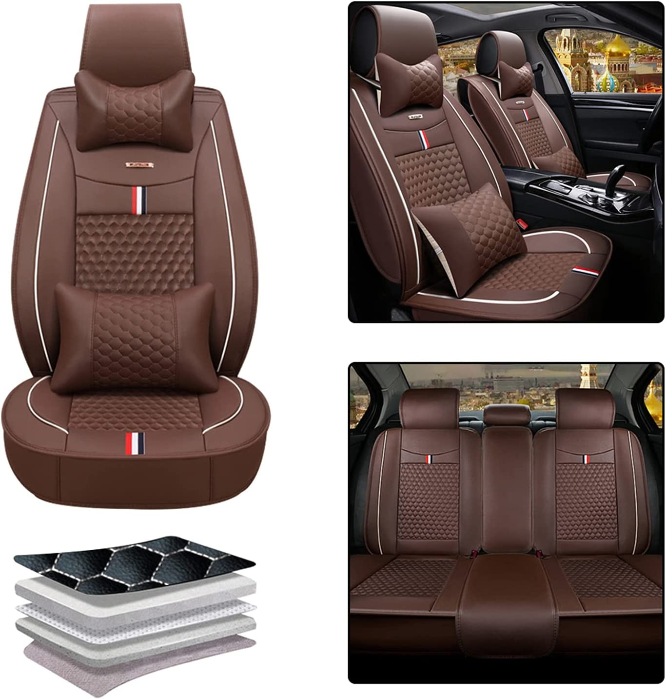 Car Seat Cover for Chevy Chevrolet C5 Brand new Rear Front Spring new work Corvette C7