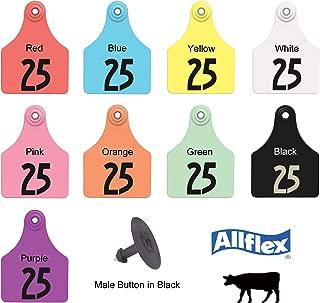 Allflex Usa Allflex Large White Ear Tags 26 50