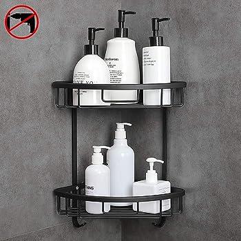 Hoomtaook Estanteria Baño Para Esquinas de Baño Ducha No Drill ...