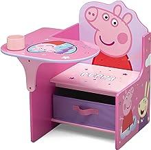 Delta Children Chair Desk with Storage Bin - Ideal for Arts & Crafts, Snack Time, Homeschooling, Homework & More, Peppa Pi...