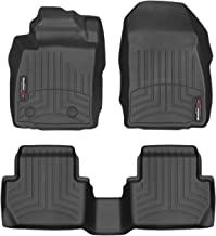WeatherTech Custom Fit FloorLiner for Ford EcoSport - 1st & 2nd Row (Black)