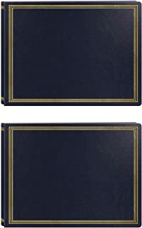 Pioneer Photo Albums JMV-207 Magnetic Page X-Pando Photo Album (Black/2-Pack)