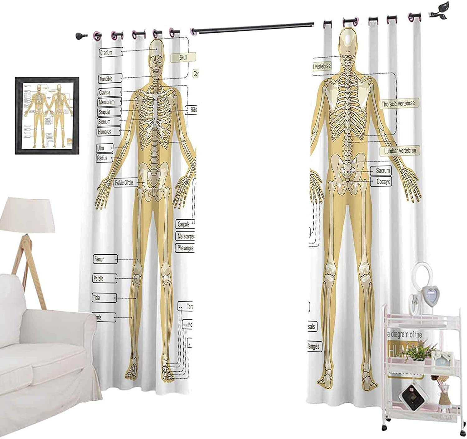 Room Darkening Blackout Curtains Max 70% OFF 72 Long Window P Over item handling ☆ Inches Curtain