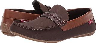 Levi's¿ Shoes Men's Warren Canvas/Burnish Brown/Tan 10.5 D US