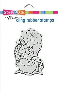 STAMPENDOUS Cling Rubber Stamp Starlight