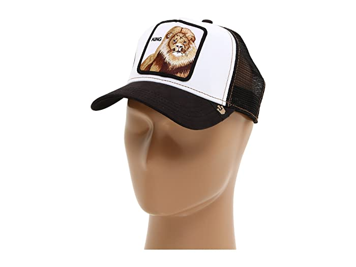 Goorin Brothers  Animal Farm Snap Back Trucker Hat (Black King) Caps