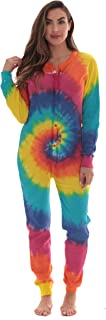Best Womens Henley Thermal Onesie Buffalo Plaid and Tie Dye Review
