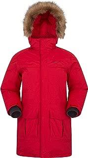 Mountain Warehouse Antarctic Mens Waterproof Puffer Rain Jacket