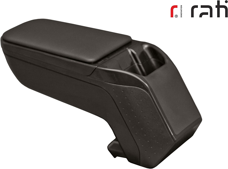 black 2008 2020- Rati Armster2 accoudoir central avec rangement I compatible avec PEUGEOT 208 2020- w//o pocket