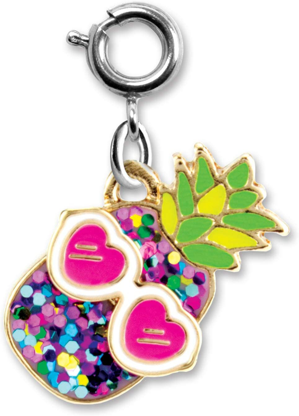 CHARM IT! Charms for Bracelets and Necklaces - Glitter Pineapple Charm