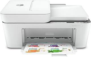 HP DeskJet 4120e Stampante Multifunzione, USB, 33.2 x 42.8 x 20cm, Bianco/Grigio
