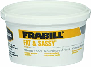 Frabill Fat and Sassy Worm Food