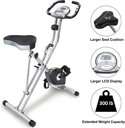 Exerpeutic Folding Heavy Duty 300 lbs. Weight Capacity