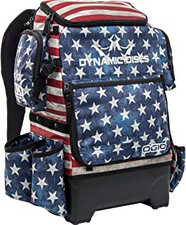 Dynamic Discs Ranger H2O Backpack Disc Golf Bag - Includes Fully Integrated 2 Liter Water Bladder System