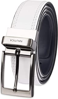 Nautica Men's Leather Reversible Belt