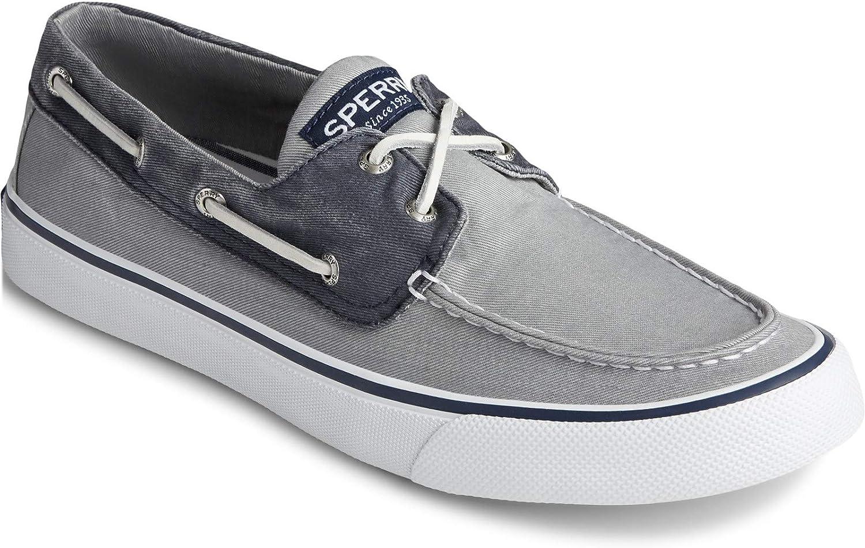 Bahama II Boat Shoe Grey Navy