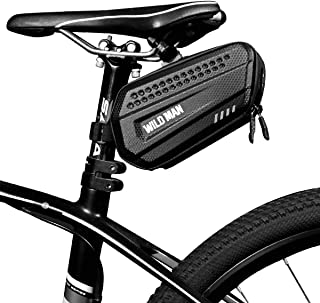 Epessa Bike Saddle Bag Bicycle Under Seat Pack Bag for Road Mountain MTB Bike,Dual Opening Compartment Design, Large Capac...