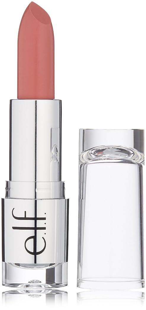 お風呂熱狂的な光沢e.l.f. Beautifully Bare Satin Lipstick Touch of Pink (並行輸入品)