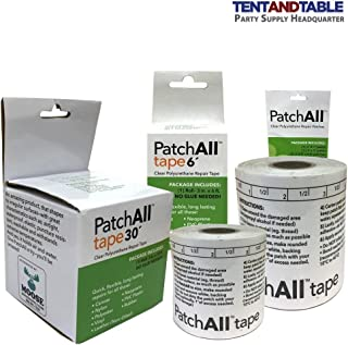 Moose Supply PatchAll Kit Polyurethane Plastic Adhesive for Canvas, Nylon, Polyester, Vinyl, Rubber, Leather, Neoprene, TPU, and PVC Plastic