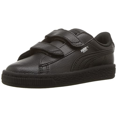 puma black velcro shoes