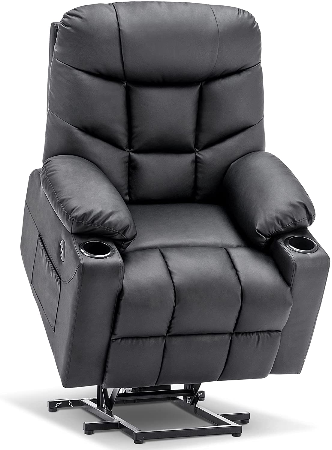 Mcombo Electric Power Lift Special sale item Recliner Chair for Free shipping Elderly 3 Sofa Po