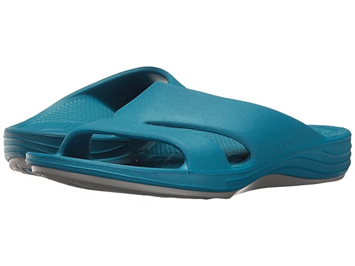 Aetrex  Lynco Slide (Blue) Womens Sandals