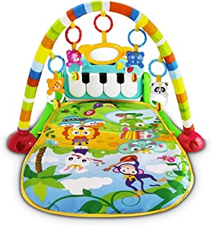 Mumoo Bear Baby Piano Fitness Playmat Newborn Educational Activity Play Gym Mat Toy