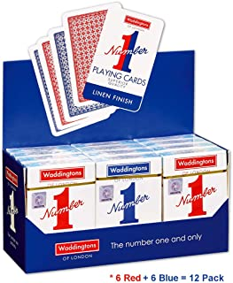 Waddingtons 007146 Classic No.1 Playing Cards 12 Pack