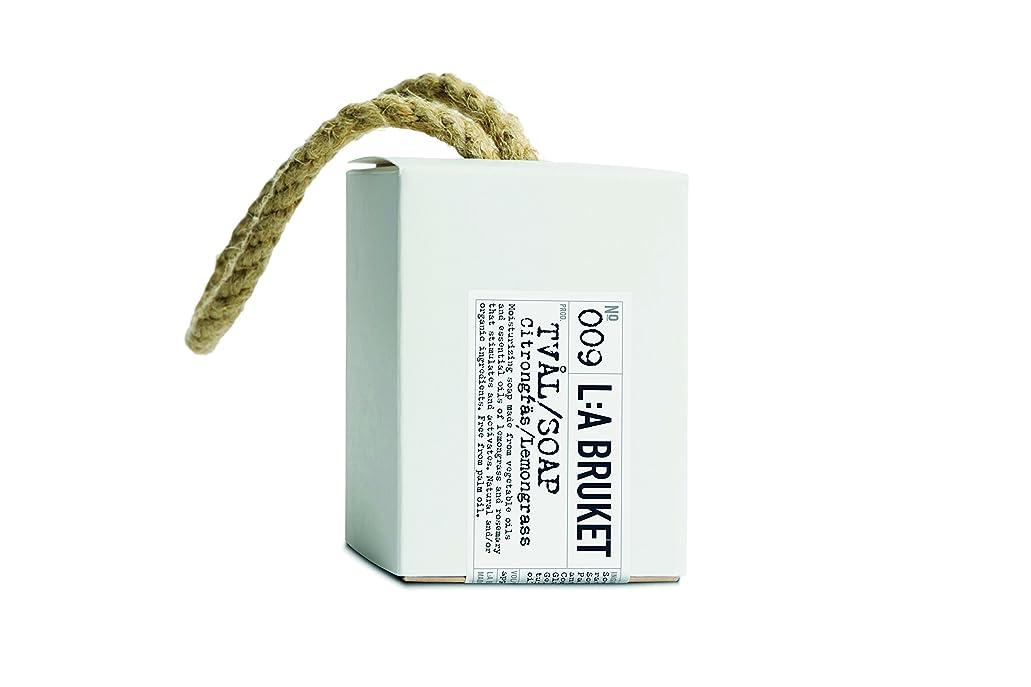 屋内金銭的無傷L:a Bruket (ラ ブルケット) ロープソープ (レモングラス) 240g