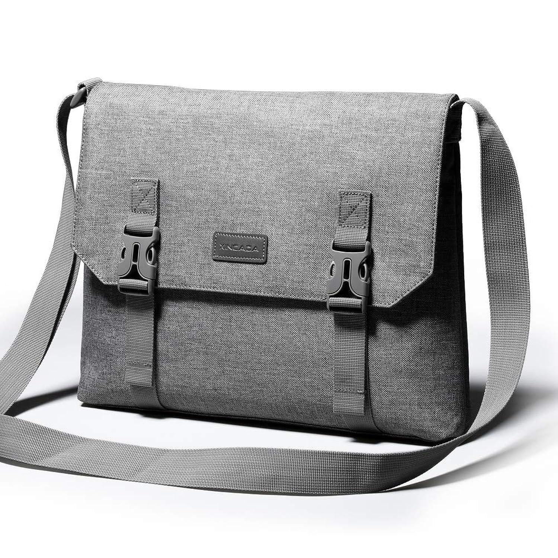 XINCADA メッセンジャーバッグ a4サイズ ショルダーバッグ メンズ 斜め掛け バッグ ショルダー 撥水加工 軽量 通勤通学