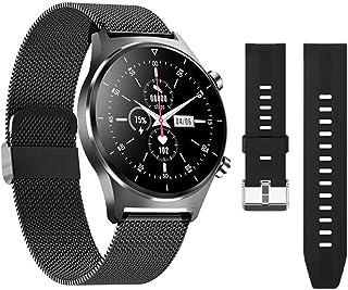 Smart Watch, E13 Hartslagmonitoring voor iOS Android Heren en Dames Sport Smartwatch Ondersteuning Stappenteller Ronde Scr...