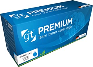 Gt Premium Toner Cartridge For Hp Clj Cp1025 / Pro 100mfp, Cyan- Ce311a / Hp 126a, (gt-ct-00311c)