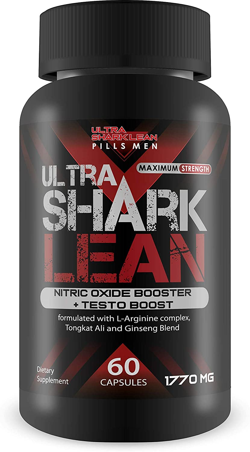 Ultra Shark Lean - Manufacturer direct delivery Nitric National uniform free shipping Oxide Boost Booster F + Growth Testo