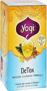 YOGI TEA Herbal Tea Bags Detox 16 Tea Bags