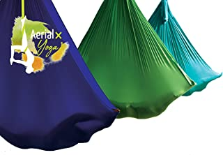 AerialX Aerial Yogatuch Yoga & Fitness Set | GS geprüfte Sicherheit aus Deutschland | Vertikaltuch in vielen Farben & Vari...