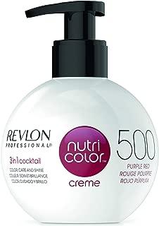 REVLON PROFESSIONAL Nutri Colour Creme 500 Purple Red 270 ml