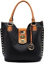d'Orcia 2 Piece Shoulder Tote Handbag