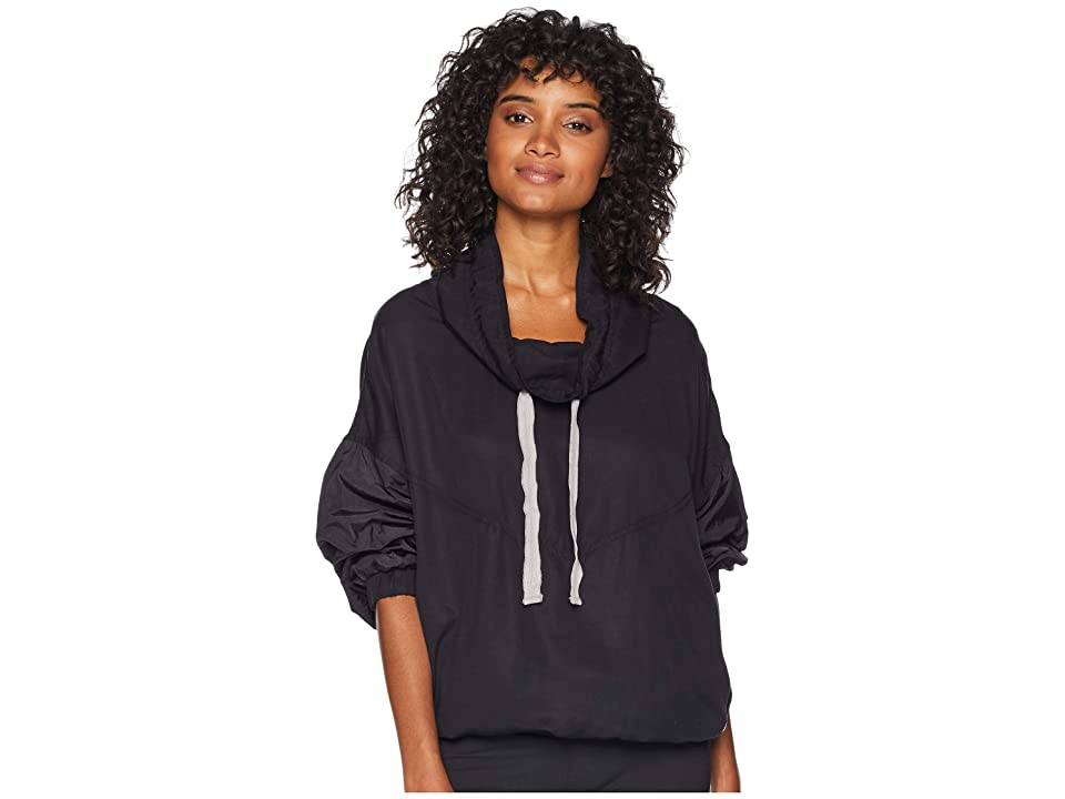 Free People Movement Far and Away Pullover (Black) Women
